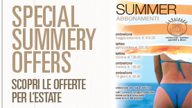 Special Summery Offers!